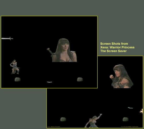 Xena Windows 95 Stuff